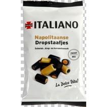 Italiano - dropstaafjes 80gg- 12 zakken