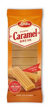 Lonka Lonka - breaktablet caramel 100g - 15 tabletten