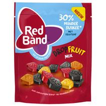 Red Band Venco - dropfruit mix 210g - 10 zakken