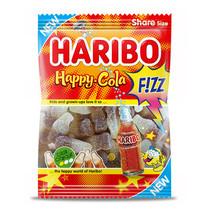 Haribo - happy cola fizz 200gr - 14 zakken