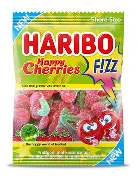 Haribo Haribo - happy cherries fizz 200gr - 14 zakken