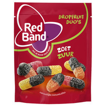 Red Band Venco - magic dfd zoet zuur 240g - 10 zakken