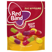 Red Band Venco - duo wg zoet fris 10x235g - 10 zakken