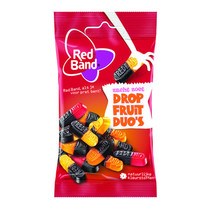 Red Band Venco - dropfruit duo's 24x30g - 24 zakken