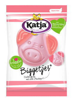 Katja Katja - vv biggetjes 300g - 12 zakken