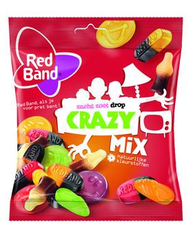 Red Band Red Band Venco - snoepmix crazy 370gr - 12 zakken