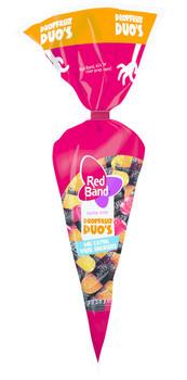 Red Band Red Band Venco - pz drop fruit duo's 300g - 15 puntzak