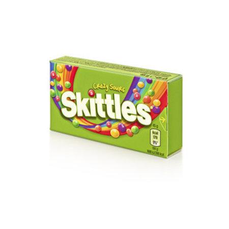 Skittles SKITTLES - crazy sours 45gr - 16 dozen