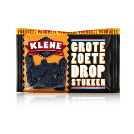 Klene Klene - grote zoete dropstukken - 12 stuks