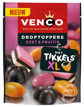 Venco Venco - Droptoppers Fruitig 255Gr, 10 Zakken