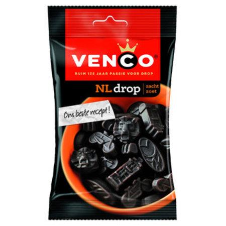 Venco Venco - kv nl drop 100g - 24 zakken