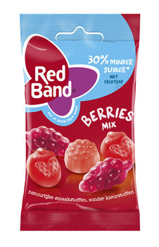 Red Band Red Band Venco - berries mix 24x35g - 24 zakken