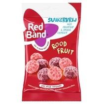 Red Band Venco - suikervrij roodfruit 12x70g- 12 zakken