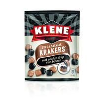 Klene - krakers zout & salmiak - 10 zakken