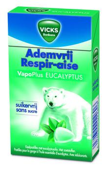 Vicks Vicks - ademv eucalyptus sv 40g - 20 box