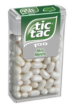 Tic Tac Tic Tac - Tic Tac Mint T100X16, 16 Dozen