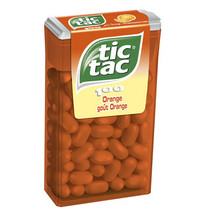 Tic Tac - Tic Tac Orange T100X16, 16 Dozen