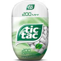 TIC TAC - t200x8 mint bottlepack- 8 stuks