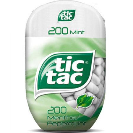 Tic Tac Tic Tac - Tic Tac T200X8 Mint Bottlepack, 8 Stuks
