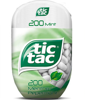 Tic Tac TIC TAC - t200x8 mint bottlepack- 8 stuks