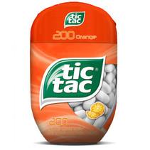 Tic Tac - Tic Tac T200X8 Orange Bottlep, 8 Stuks
