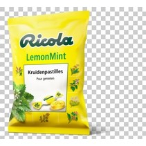 Ricola - zak lemon mint 70gr - 12 zakken