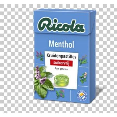 Ricola Ricola - Menthol S.V. 50G, 20 Dozen