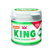 King - mini ex strong jar4x100gr- 4 stuks