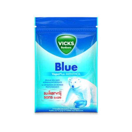 Vicks Vicks - 72g blue sv hersl. - 20 zakken