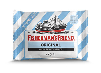 Fisherman's Friend Fisherman'S Friend - Fisherman Fr Orig.E.S Sv Bl/Wt, 24 Zakken