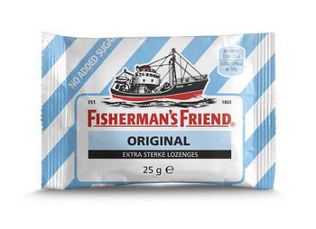 Fisherman's Friend Fisherman's Friend - orig.e.s sv bl/wt- 24 zakken
