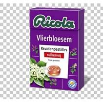Ricola - vlierbes s.v. 50gr - 20 dozen
