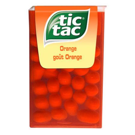 Tic Tac Tic Tac - Tic Tac T1 Orange, 36 Dozen