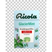 Ricola - glaciermint sv 50gr - 20 dozen