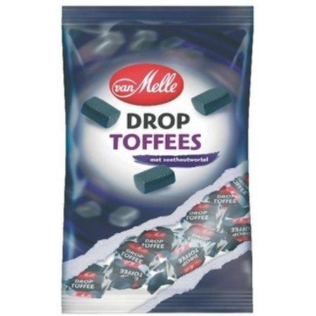van Melle Van Melle - toffees tr.wrapzk 250gr drop - 14 zakken