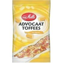 Van Melle - toffees tr.wrapzk 250gr advoca- 14 zakken