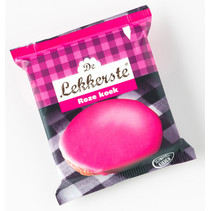 De Lekkerste - roze koek 55g - 18 stuks