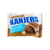Kanjers - choco-wafels 45g a1 - 24 stuks