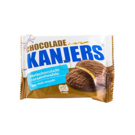 Kanjers Kanjers - choco-wafels 45g a1 - 24 stuks