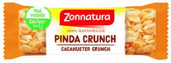 Zonnatura Zonnatura - pinda crunch 45gr - 24 pakken