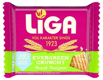 Liga Liga - crunchy muesli/roz - 24 pakken