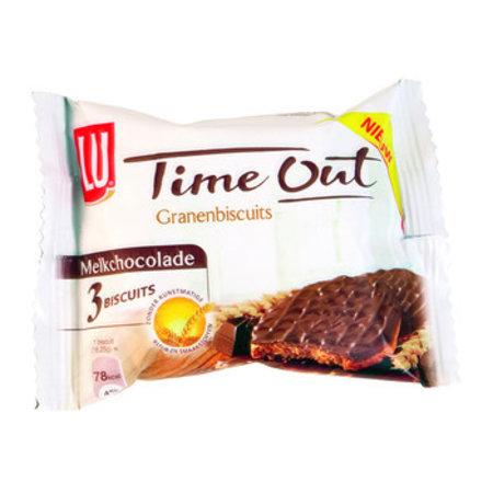 LU LU - time out granenbisc choco 3st - 24 pakken
