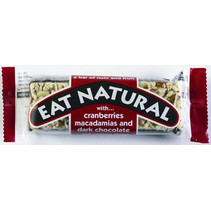 Eat Naturals - reep cranb./macademia+choc. - 12 repen