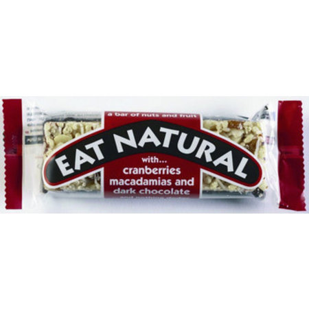 Eat Naturals Eat Naturals - reep cranb./macademia+choc. - 12 repen