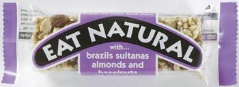 Eat Naturals Eat Naturals - brazils sultanas almond&hazeln- 12 repen