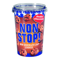 Nonstop - double choc 125g - 8 bekers