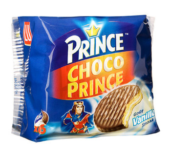 Prince LU - choco prince vanille 171g - 24 dozen