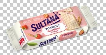 Sultana Sultana - yofruit aardbei 35g - 20 stuks