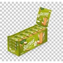 Sultana - fruitbisc.appel 43g - 24 stuks