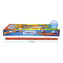 Vidal - xxl kabel sour strawb. - 80 stuks